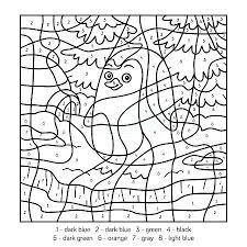 Sandbox Color By Number Apk Hack Penguin Education Game For Children Free Printable Winter Math Grade
