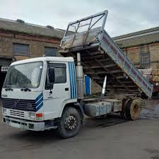 Left Hand Drive Volvo FL10.360 Intercooler 19 Ton 3 Way Tipper ...