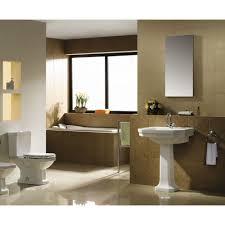 Half Bathroom Ideas With Pedestal Sink by 30 Wonderful Pictures And Ideas Art Deco Bathroom Tile Design