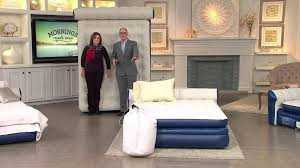 Aerobed Queen Air Bed With Headboard by Aerobed Queen Size Elevated Headboard Bed W Built In Pump With Pat