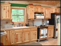 Knotty Pine Bedroom Furniture by Kitchen Pine Kitchen Cabinets Inexpensive Kitchen Cabinets