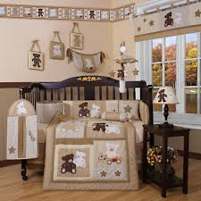 Baby Nursery Lovely Decorating Ideas For New Cute Babies Room Decor Brown Zoo Circle With Ba Bedroom
