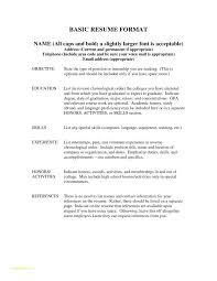 Easiest Resume Template And References Format Example