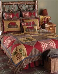 Cabin Quilt BlackMountainQuilts Quilted Bedding & Home