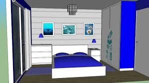 model chambre chambre 3d warehouse