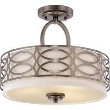 lighting nuvo lighting 60 4729 with 3 light semi flush mount