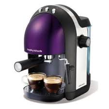 Morphy Richards Purple Espresso Coffee Maker