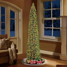 Slim Pre Lit Christmas Trees by Holiday Time Pre Lit 7 U0027 Green Shelton Artificial Christmas Tree