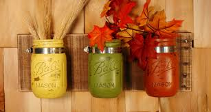 Inspiring Mason Jar Kitchen Decor And Fall Fiesta Wall Decoration