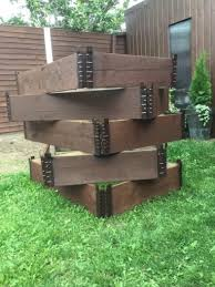Raised Bed Wooden Pallets Collars
