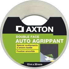 rouleau adhésif sol souple l 50 mm x l 15 m axton