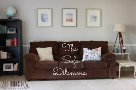 Ikea Kivik Sofa Cover Washing by The Sofa Dilemma All Things New Interiors