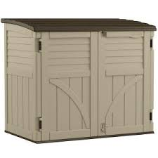 4x6 Outdoor Storage Shed by Rubbermaid 2 Ft 7 In X 5 Ft Horizontal Storage Shed