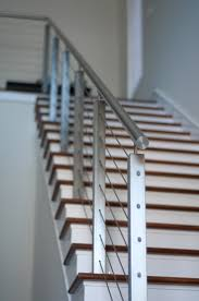 32 Best Staircase Railing Images On Pinterest | Stairs, Staircase ... Stainless Steel Railing And Steps Stock Photo Royalty Free Image Metal Stair Handrail Wrought Iron Components Laluz Fniture Spiral Staircase Designs Ideas Photos With Modern Ss Staircase Glass 6 Best Design Steel Arstic Stairs Diy Rail Online Metals Blogonline Blog Railing Of Cable Glass Bar Brackets Wire Prices Pipe Exterior Railings More Reader Come With This Words Model Fantastic Picture Create Unique Handrailings Pinnacle