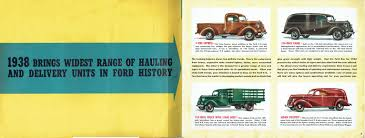 100 Cdn Trucking 1938 Ford Truck Full Line Brochure