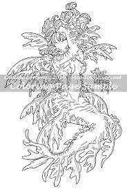 Art Of Meadowhaven Fantasy Coloring Page Download Leafy Mermaid By On Etsy Blog HeadersSea DragonGel