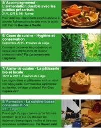 formation cuisine gratuite formation gratuite de formateur cisp en horeca durable moc verviers