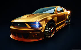 2005 Ford Mustang GT R in Gold