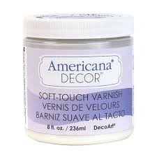 Americana Decor Chalky Finish Paint Tutorial by Decoart Americana Decor 8 Oz Soft Touch Varnish Adm03 45 The