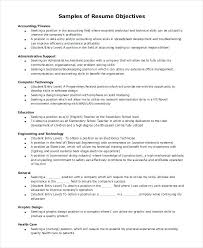 Objective For A General Resume Administrative Assistant Labor