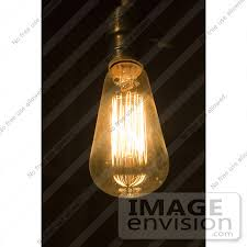 fashioned style squirrel cage filament light bulb anchors