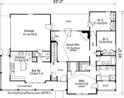 Craftsman Style Floor Plans Bungalow by Craftsman Style Home Plans Craftsman Style House Plans