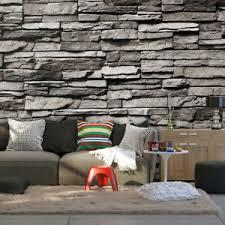 details zu vlies fototapete steinoptik ziegel effekt tapete wandbilder wohnzimmer 011