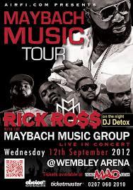 Rick Ross MMG Concert Artwork
