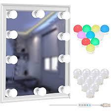 led spiegelleuchte stil 10 dimmbar schminklicht