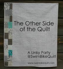 Linky Party The Other Side of the Quilt