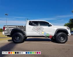 100 Truck Flag American Decal Sticker Vinyl Bed Destorder US Kit