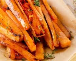cuisiner les carottes recette de patate douce et carotte rôties aux épices i g bas