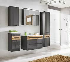details zu badmöbel cascade 80 badmöbel waschbecken mdf platte badezimmermöbel set 1 7
