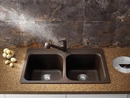 Blanco Silgranit Sinks Colors by Blanco 400307 Vision 210 Drop In Kitchen Sink In Cafe