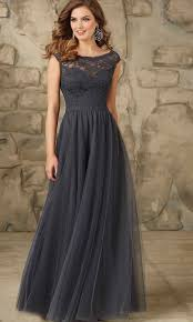dark gray long lace bridesmaid dresses uk ksp401 ksp401 97 00