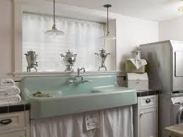 Stainless Steel Laundry Sink With Washboard by 7 Stylish Laundry Room Decor Ideas Hgtv U0027s Decorating U0026 Design