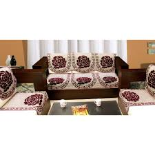 Best Fabric For Sofa Cover by Furniture Home Sofa Cover Set By Azaani Brown Largecover Sofa