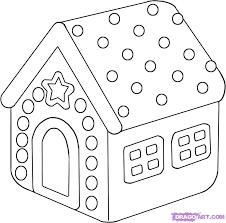 Related Gingerbread House Coloring Pages Item 4467