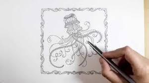 Lost Ocean By Johanna Basford Jellyfish