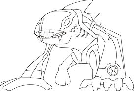 Ben 10 Alien Force Coloring Pages To Print Crokky Best Of Menchies