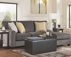 Levon Sofa Charcoal Upholstery by Amazon Com Ashley Hodan 7970018 93 Inch Sofa Chaise With Pillows