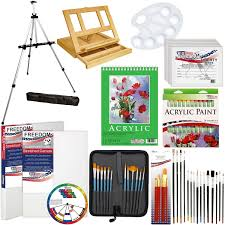 Decorative Floor Easel Hobby Lobby by Amazon Com Us Art Supply 72 Piece Deluxe Acrylic Painting Set