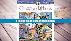 Download PDF Creative Haven Kittens Coloring Book Adult Trial Ebook