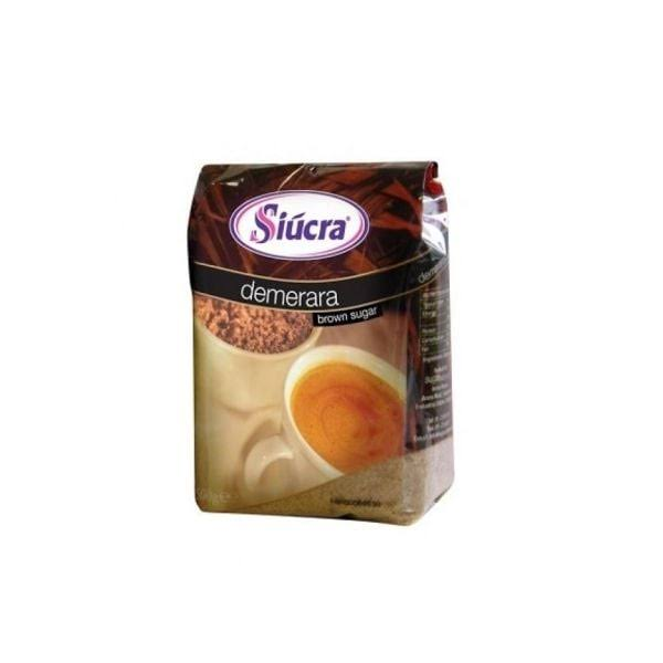 Siucra Brown Sugar - Demerara, 500g