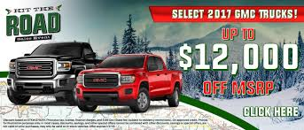 Select GMC Trucks $12k Off