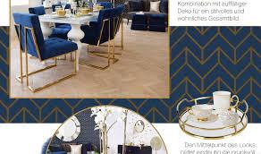 royal blue dining room esszimmer in kräftigem blau looks