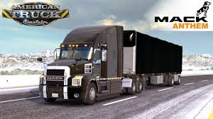 100 Transland Trucking American Truck Simulator MACK ANTHEM TRUCK YouTube