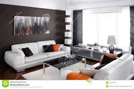 modernes wohnzimmer stockbild bild tabelle verzieren