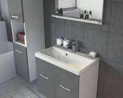 möbel badezimmer waschbecken unterschrank mcw b19 hochglanz