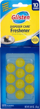 glisten disposer care freshener lemon scent 12 pack 10 use